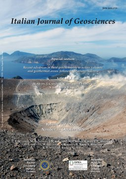 Italian Journal Of Geosciences - Vol. October 2020