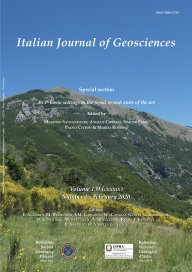 Italian Journal of Geosciences - Vol. 139 (2020) f.1