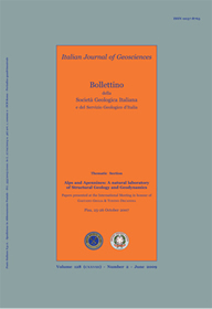 Italian Journal of Geosciences - Vol. October 2009