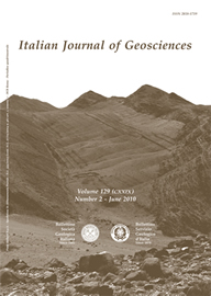 Italian Journal of Geosciences - Vol. June 2010