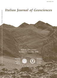 Italian Journal of Geosciences - Vol. October 2010