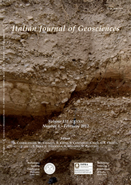 Italian Journal of Geosciences - Vol. February 2012