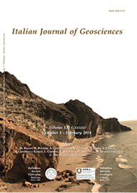 Italian Journal of Geosciences - Vol. February 2014
