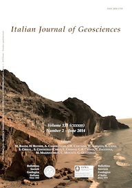 Italian Journal of Geosciences - Vol. June 2014