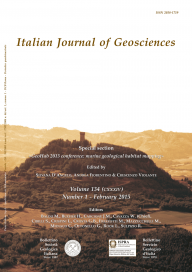 Italian Journal of Geosciences - Vol. February 2015