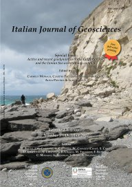 Italian Journal of Geosciences - Vol. October 2017