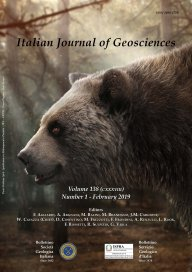 Italian Journal of Geosciences - Vol. February 2019
