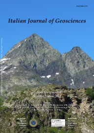 Italian Journal of Geosciences - Vol. June 2019