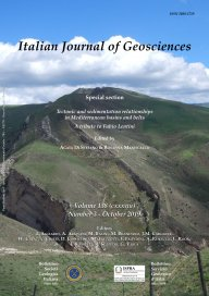 Italian Journal of Geosciences - Vol. October 2019
