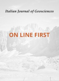 Italian Journal of Geosciences - Vol. 134 (2015) f.0